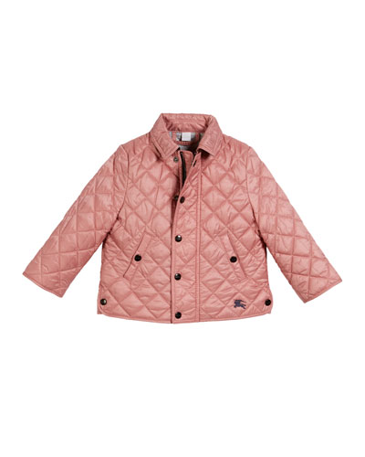 Lyle Quilted Snap Jacket  Size 6M-3