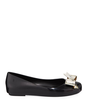 846159fdc Mini Melissa Shoes : Jelly & Ballet Flats at Neiman Marcus