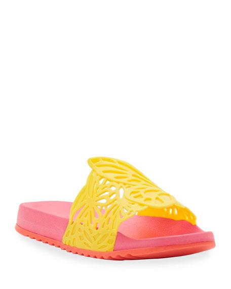 Sophia Webster Lia Butterfly Pool Slides, Toddler/Kids
