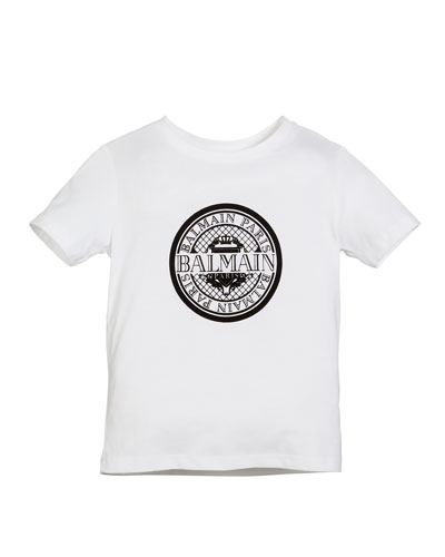 Short-Sleeve Coin Logo Graphic Tee  Size 4-10