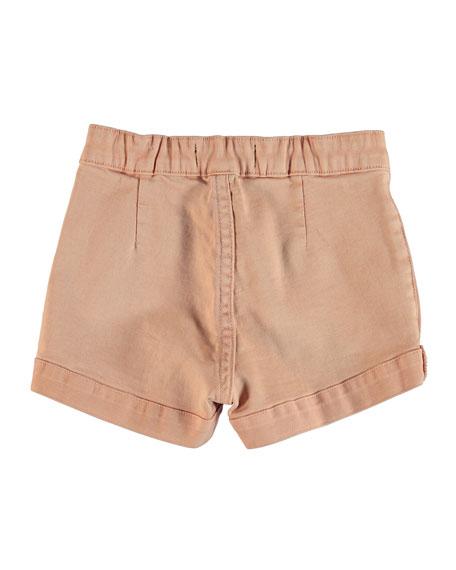 Molo Aleen Pink Denim Shorts, Size 8-16