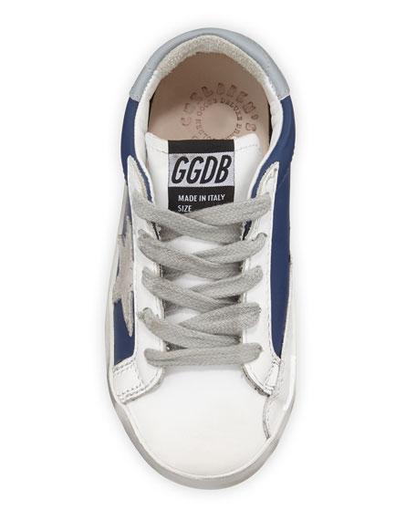 Golden Goose Superstar Leather & Suede Low-Top Sneakers, Baby/Toddler