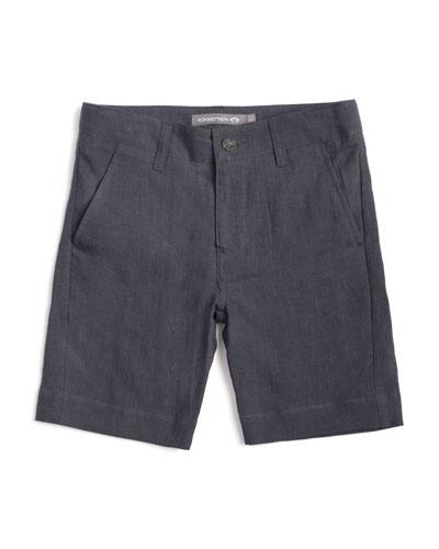 Linen Trouser Shorts  Size 2-14