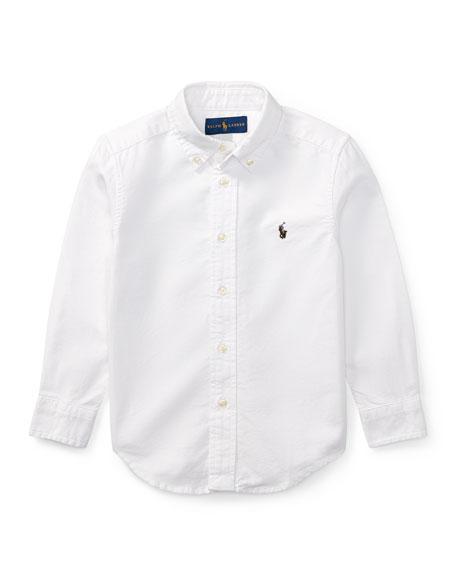 Ralph Lauren Childrenswear Oxford Sport Shirt, Size 4-7