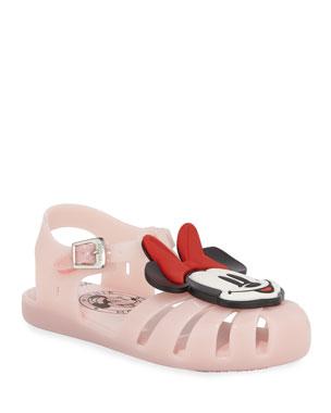 bc14edf62 Mini Melissa Mini Aranha Mickey & Friends Cutout Sandal, Baby/Toddler/Kids