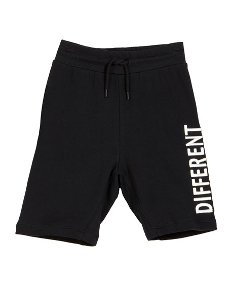 Molo Aliases Different Together Sweat Shorts, Size 4-12