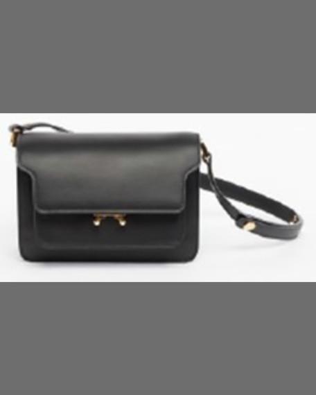 Marni Trunk Small Shoulder Bag, Vivid Blue