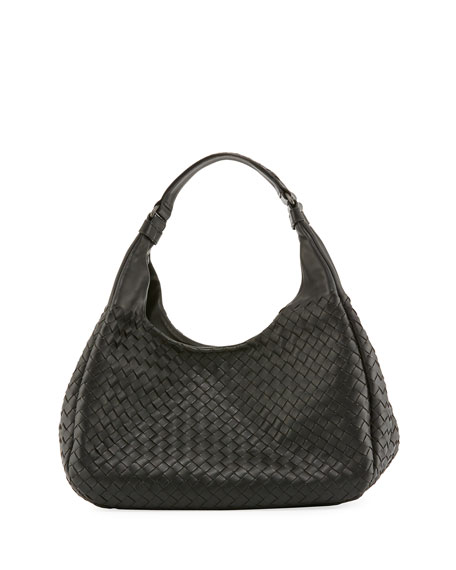 Bottega Veneta Veneta Medium Intrecciato Ball Hobo Bag
