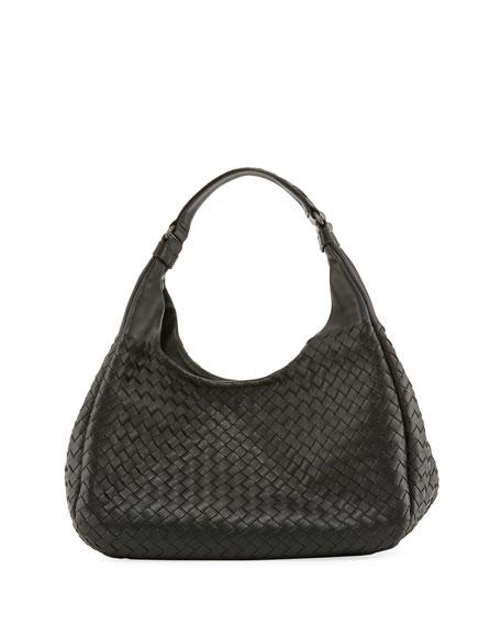 Veneta Medium Intrecciato Ball Hobo Bag