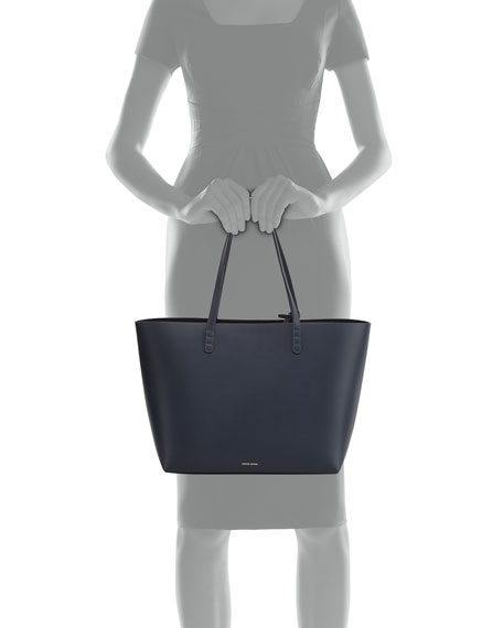 Calf Leather Large Tote Bag