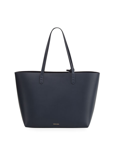 Calf Leather Large Tote Bag