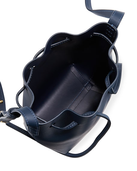 Calf Leather Mini Mini Bucket Bag