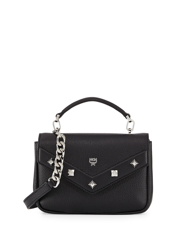 e1253dcc7f81 MCM Catherine Mini Leather Crossbody Bag