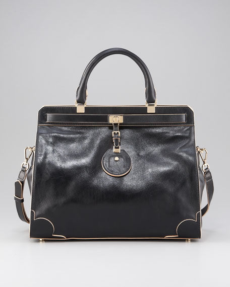 Toni Belted Tote