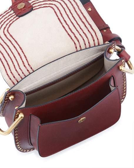 Hudson Small Leather Shoulder Bag