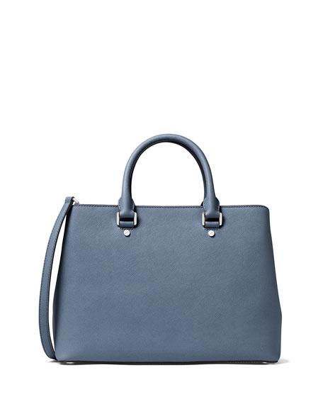 Savannah Large Saffiano Satchel Bag