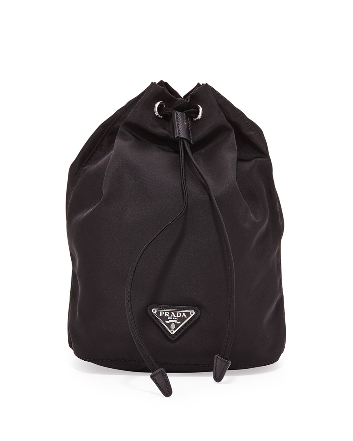 Prada Nylon Bucket Bag Neiman Marcus