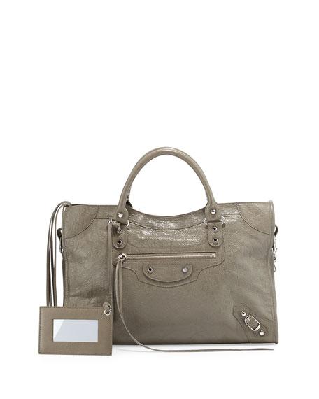 Balenciaga Classic City Lambskin Tote Bag