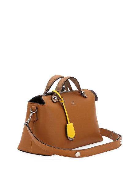 Image 3 of 3: By The Way Small Colorblock Leather Satchel Bag
