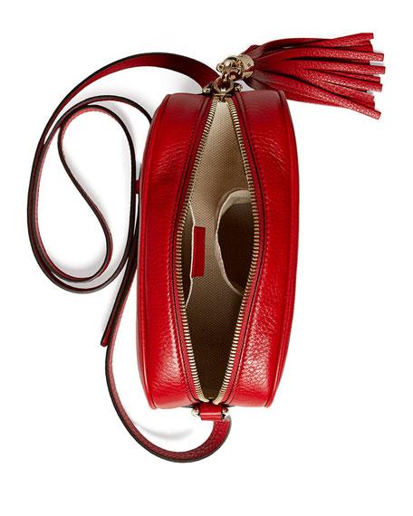 Soho Leather Disco Bag, Tobasco Red