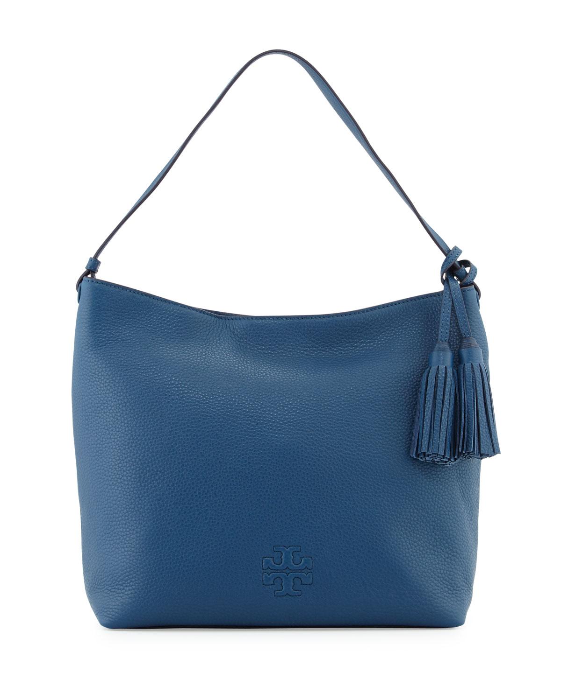 7bc54630f8a9 Tory Burch Thea Leather Hobo Bag