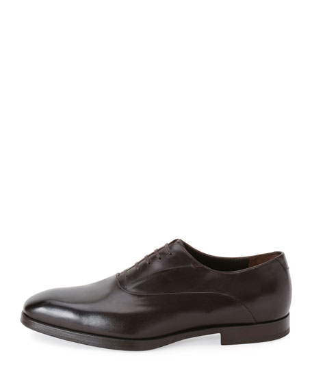 Leather Lace-Up Dress Shoe