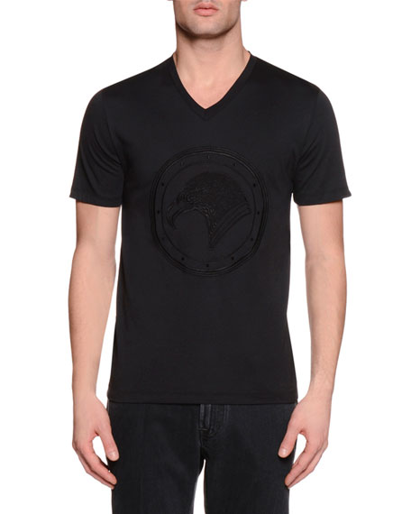 Tonal-Logo Short-Sleeve T-Shirt