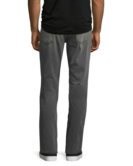 7 For All Mankind Men's Luxe Sport: Slimmy Gray Jeans