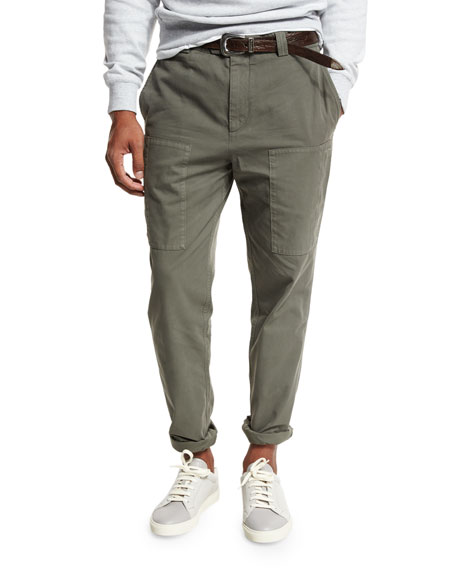 Brunello Cucinelli Waistcoat, Sport Shirt, Field Jacket, &