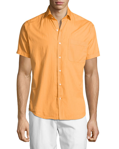 Seaside Washed Short-Sleeve Shirt