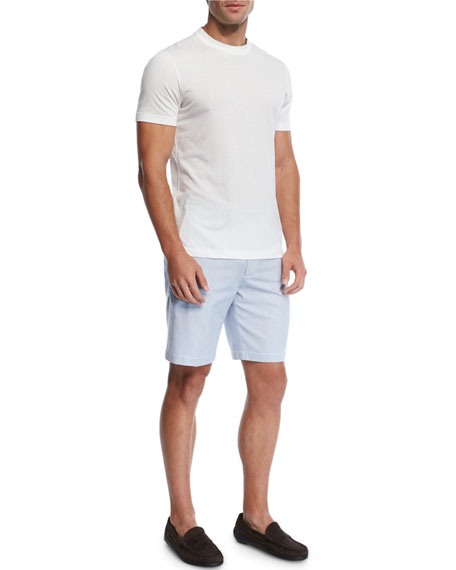 Bedford Striped Corduroy Shorts