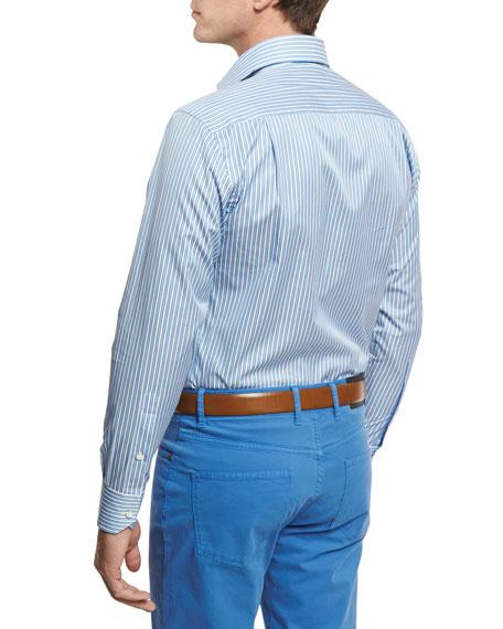 Lagoon Stripe Sport Shirt