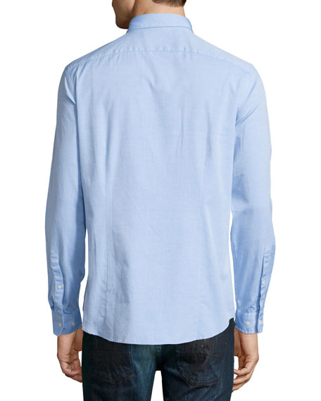 Michael Kors Slim-Fit Long-Sleeve Oxford Shirt