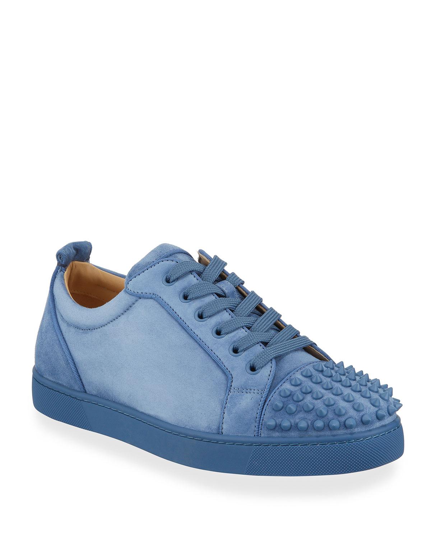 factory price b611d 9ff25 Men's Louis Junior Suede Spiked Low-Top Sneakers