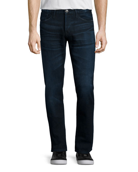 M3 Slim-Straight Lunar Clean Denim Jeans