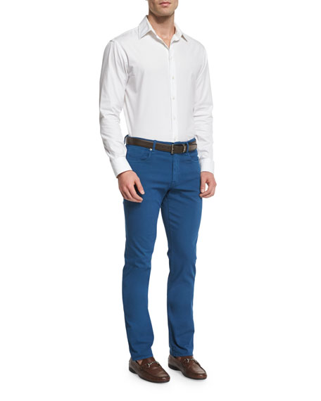Ray Regular-Fit Five-Pocket Pants