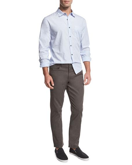 Soho Five-Pocket Stretch-Cotton Pants