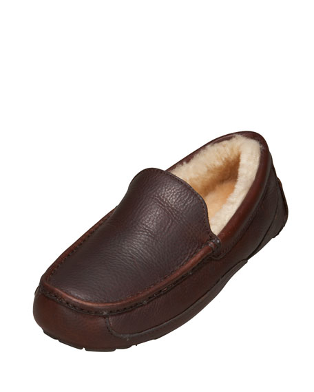 Men's Ascot Slipper, China Tea