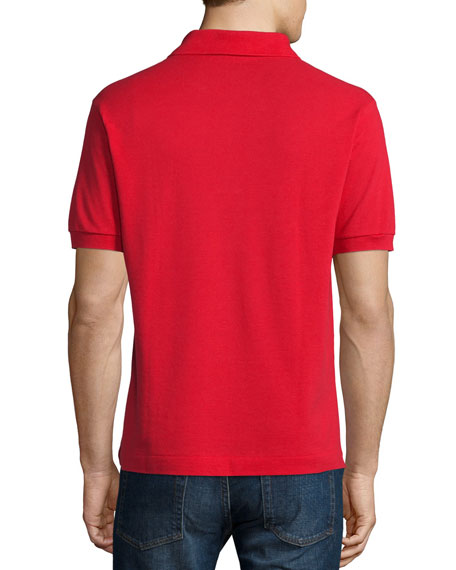 Classic Pique Polo, Red