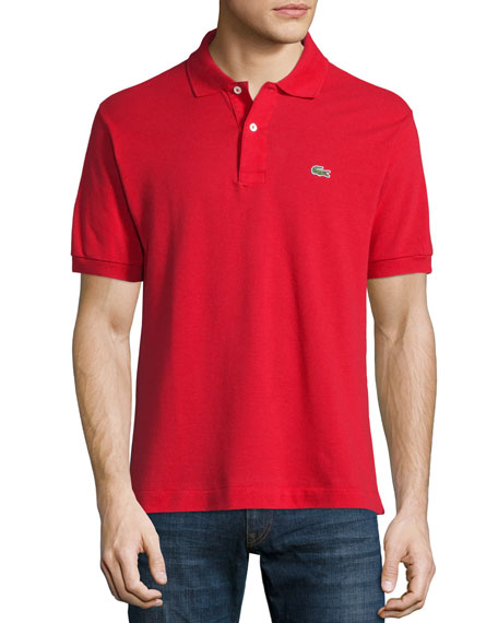 Lacoste Classic Pique Polo, Red
