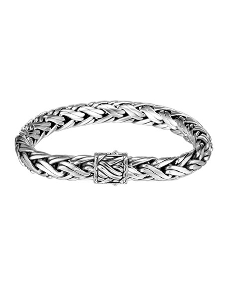 John Hardy MEDIUM WOVEN CHAIN BRACELET