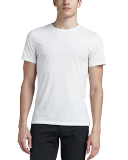 Theory Crewneck Tee, White