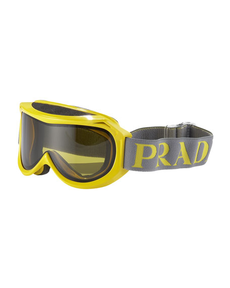 Ski Goggles with Logo Strap