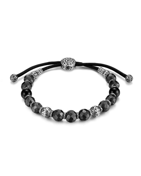 John Hardy Adjustable Bead Bracelet