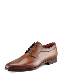 Magnanni for Neiman Marcus Antiqued Lace-Up