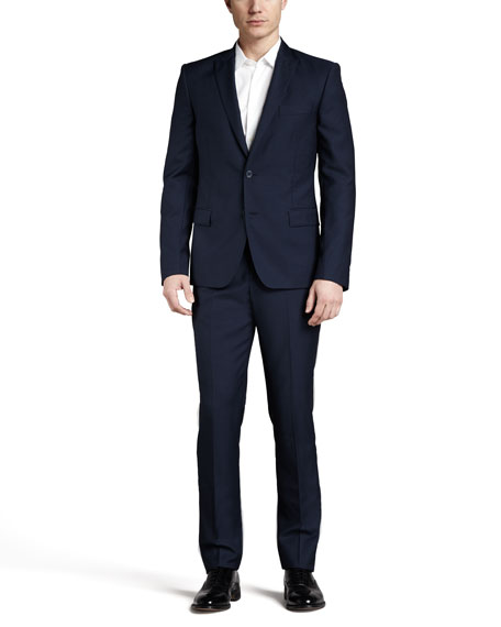 Trend-Fit Suit, Navy