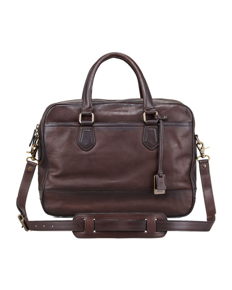Frye James Computer Bag, Dark Brown