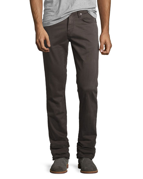 J Brand Jeans Kane Industrial Relaxed-Fit Jeans, Gray