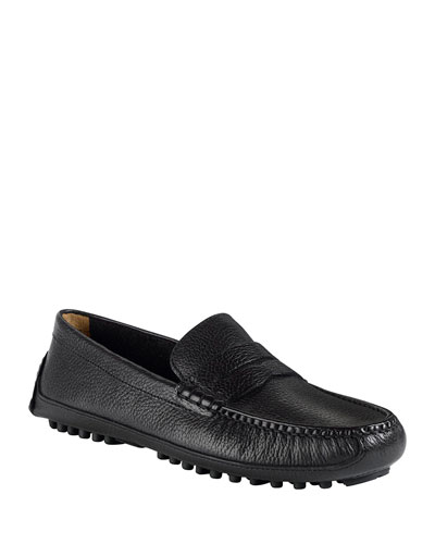 Grant Canoe Penny Loafer, Black