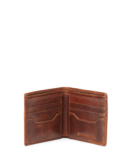 Logan Leather Bi-Fold Wallet